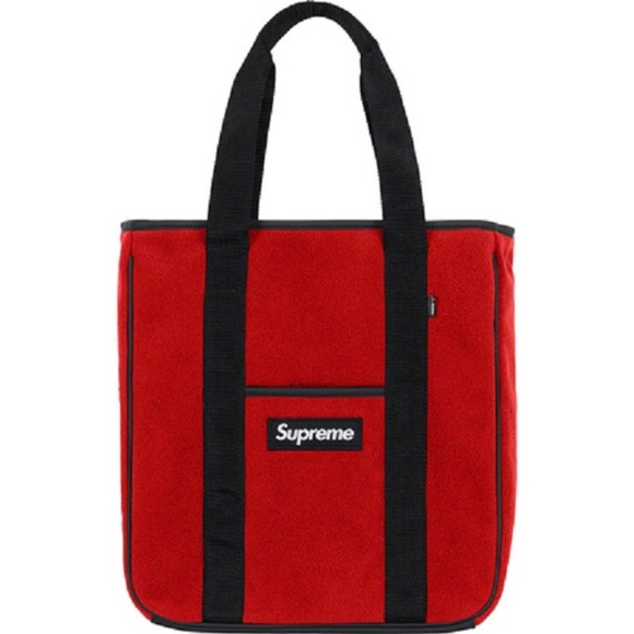 a994b08764 Supreme Bags | Polartec Red Tote Bag | Poshmark